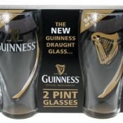 Guinness Gläser Harfe