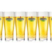 Heineken Gläser / Biergläser im Set