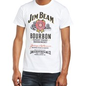 Jim Beam T-Shirt weiß