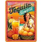 Tequila Sunrise Blechschild
