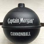 Captain Morgan Eisbox / Eisbehälter / Eiswürfelbehälter Cannonball 2 Stück